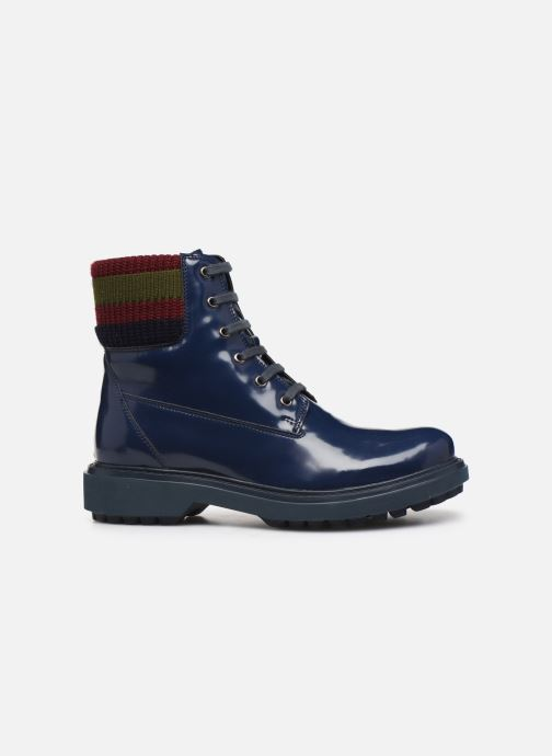 Stiefeletten & Boots Geox D Asheely B D847AB blau ansicht von hinten