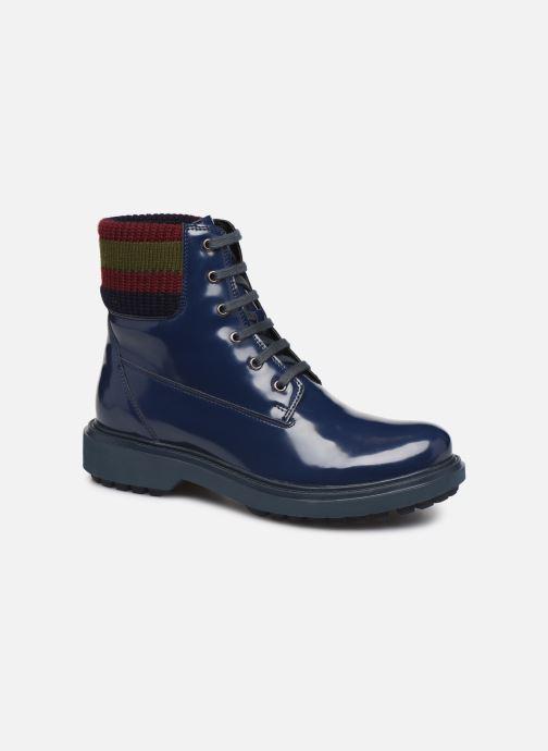 Stiefeletten & Boots Geox D Asheely B D847AB blau detaillierte ansicht/modell