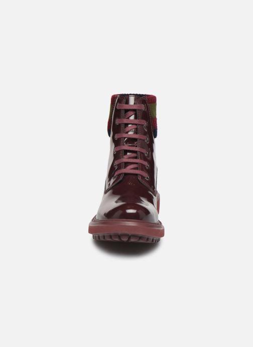 Bottines et boots Geox D Asheely B D847AB Bordeaux vue portées chaussures