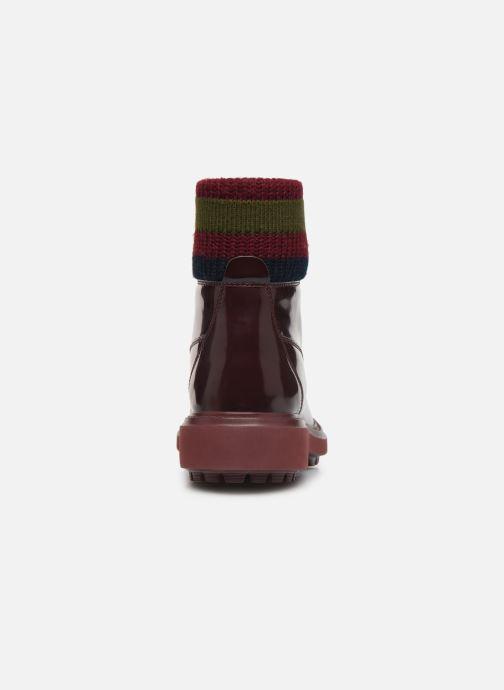Bottines et boots Geox D Asheely B D847AB Bordeaux vue droite