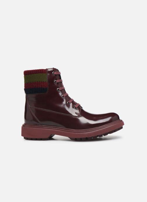 Bottines et boots Geox D Asheely B D847AB Bordeaux vue derrière