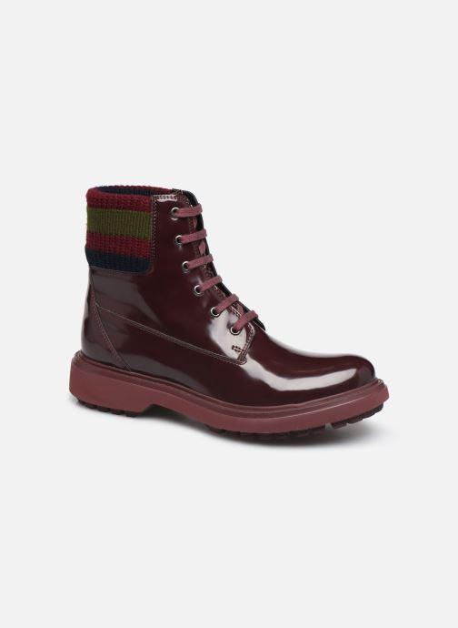 Bottines et boots Geox D Asheely B D847AB Bordeaux vue détail/paire