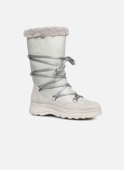Bottines et boots Geox D Hosmos B Abx B D84AUB Gris vue détail/paire
