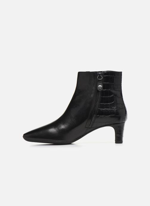 Bottines et boots Geox D Vivyanne Mid D D84BAD Noir vue face