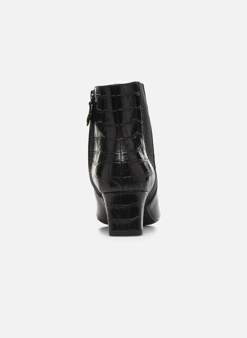 Bottines et boots Geox D Vivyanne Mid D D84BAD Noir vue droite