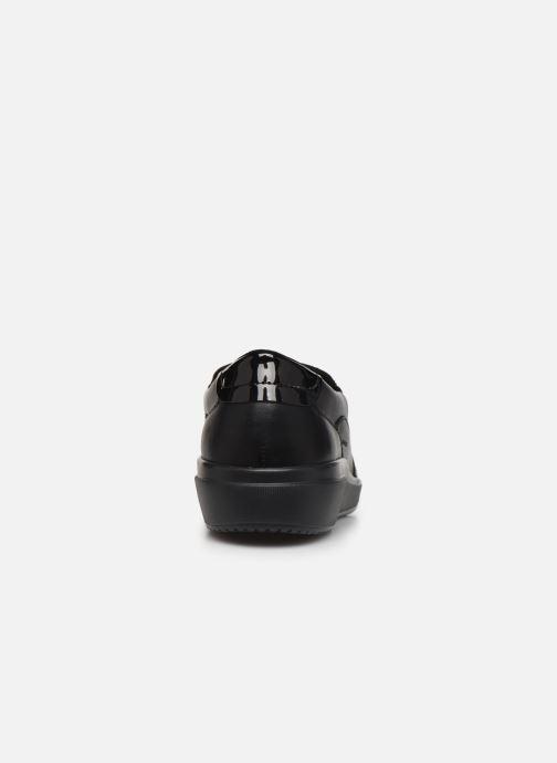 Sneakers Geox D Tahina B D84BDB Nero immagine destra