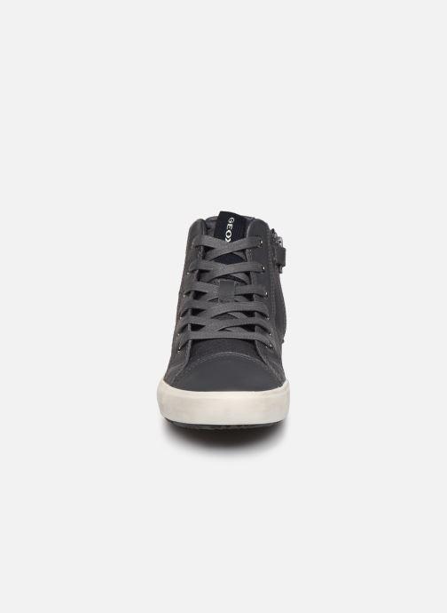 Baskets Geox J Alonisso Boy I J842CI Gris vue portées chaussures