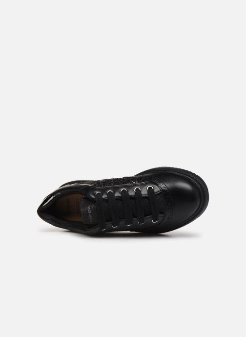 Sneakers Geox J Thymar Girl F J844FF Nero immagine sinistra