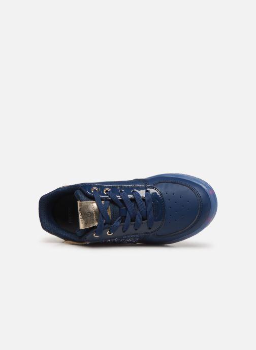 Sneaker Geox J Kommodor Girl B J844HB blau ansicht von links