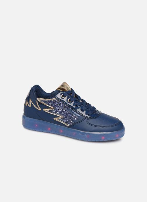 Sneaker Geox J Kommodor Girl B J844HB blau detaillierte ansicht/modell