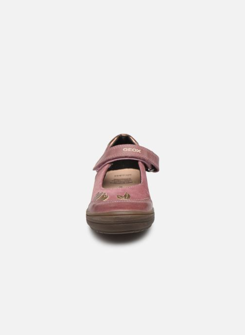 Ballerines Geox J Hadriel Girl B J847VB Rose vue portées chaussures