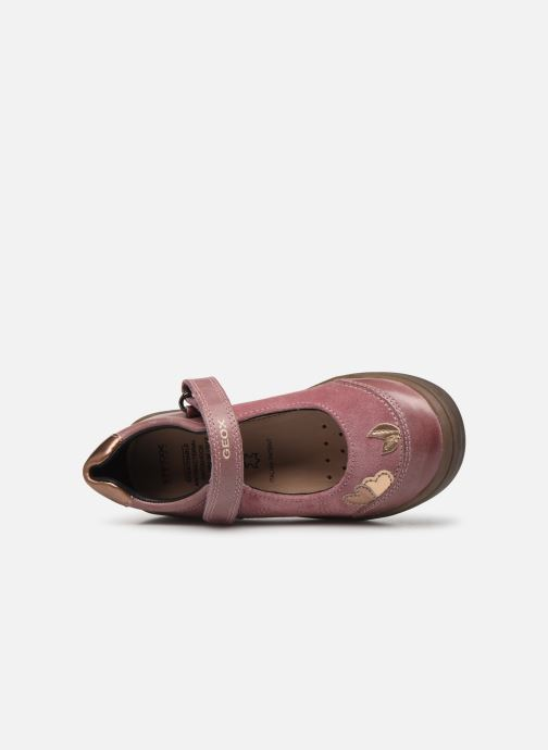 Ballet pumps Geox J Hadriel Girl B J847VB Pink view from the left