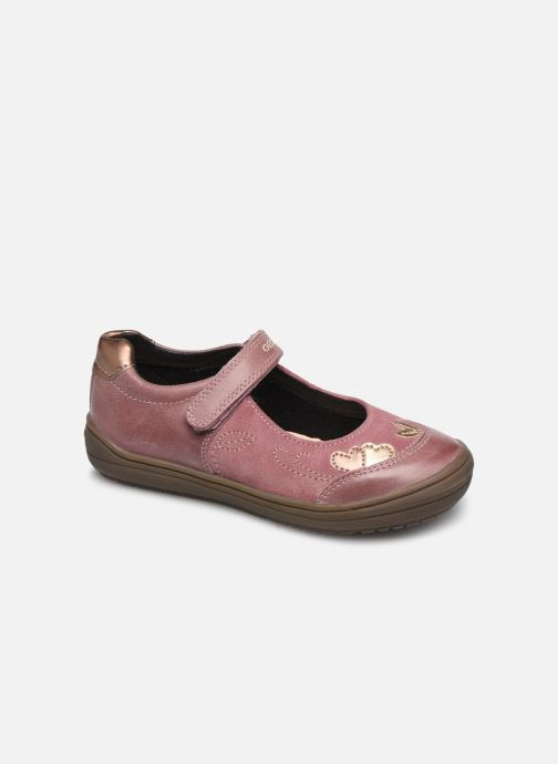 Ballet pumps Geox J Hadriel Girl B J847VB Pink detailed view/ Pair view