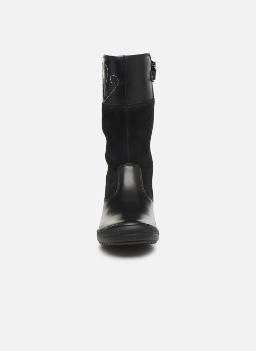 Stiefel Geox J Hadriel Girl E J847VE schwarz schuhe getragen