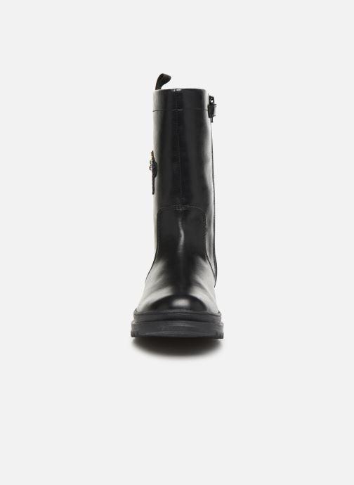 Bottes Geox J Gillyjaw Girl B J847XB Noir vue portées chaussures