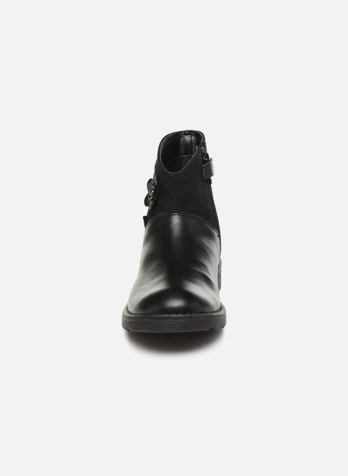 Bottines et boots Geox Jr Sofia B J84D3B Noir vue portées chaussures
