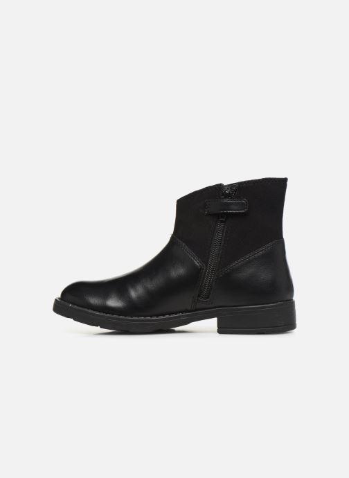 Boots en enkellaarsjes Geox Jr Sofia B J84D3B Zwart voorkant