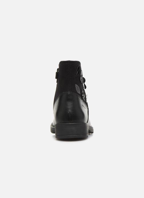 Bottines et boots Geox Jr Sofia B J84D3B Noir vue droite