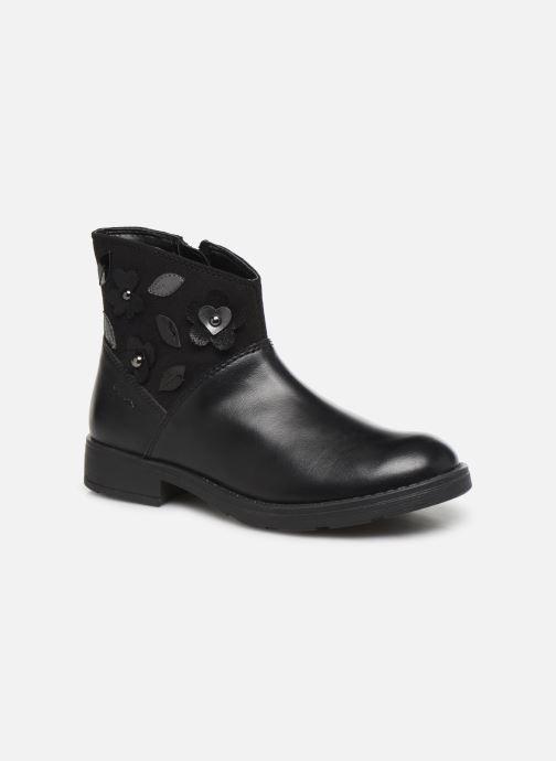 Boots en enkellaarsjes Geox Jr Sofia B J84D3B Zwart detail