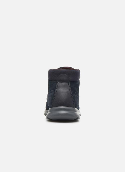 Boots en enkellaarsjes Geox U Damian A U840HA Blauw rechts
