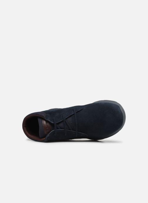 Boots en enkellaarsjes Geox U Damian A U840HA Blauw links