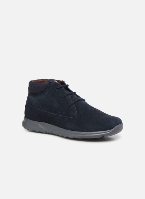 Boots en enkellaarsjes Geox U Damian A U840HA Blauw detail