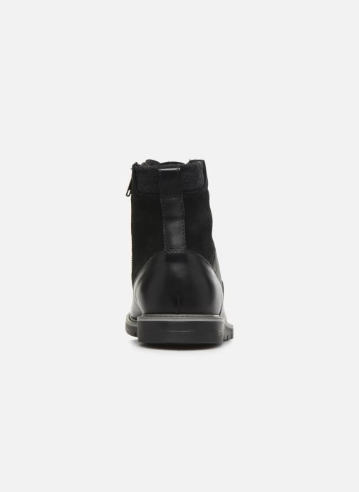 Ankle boots Geox U Uvet E U842QE Black view from the right
