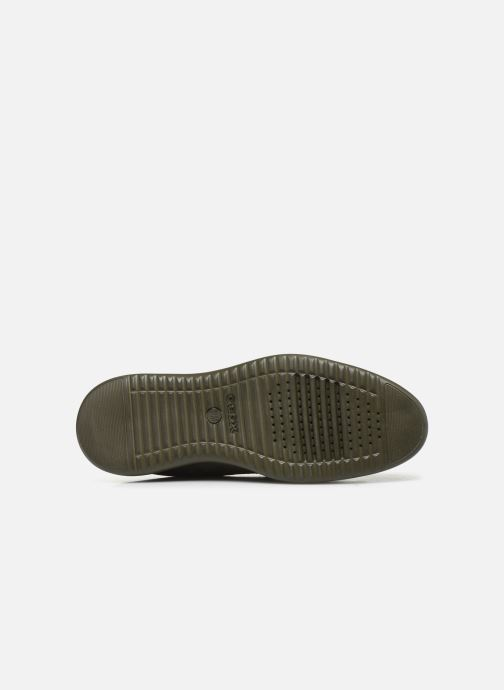 Chaussures à lacets Geox U Winfred E U844CE Gris vue haut