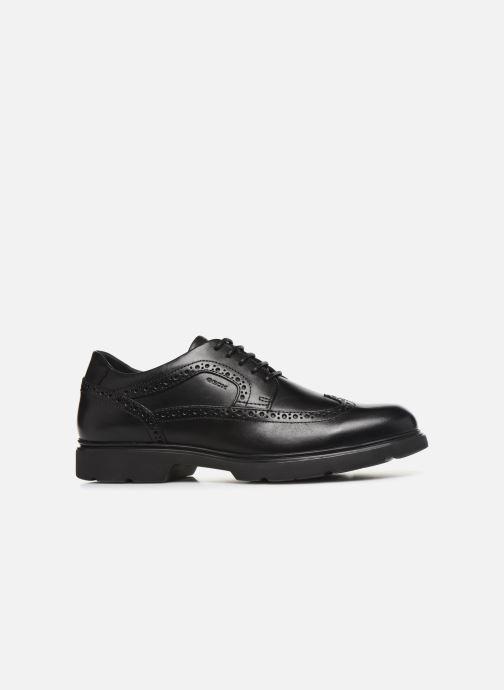 Chaussures à lacets Geox U Arrall B U845RB Noir vue derrière