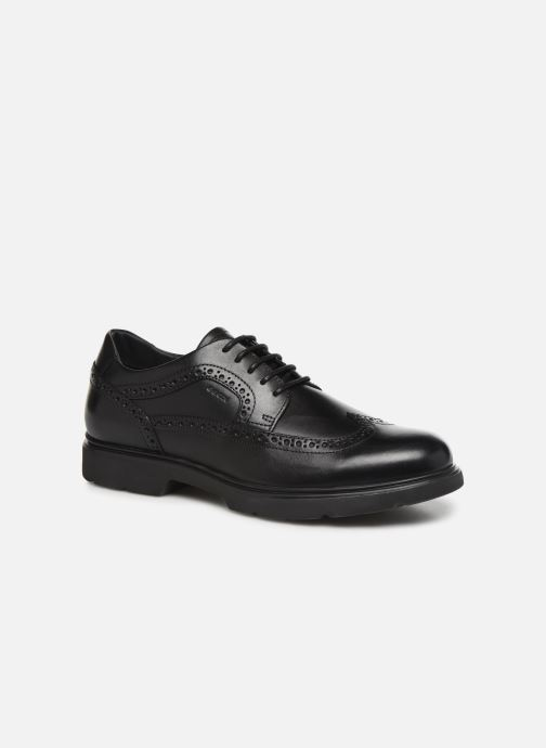 Chaussures à lacets Geox U Arrall B U845RB Noir vue détail/paire