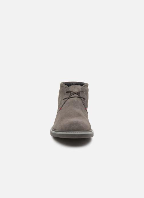 Bottines et boots Geox U Silmor A U845SA Marron vue portées chaussures