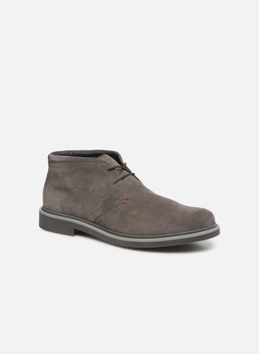 Ankelstøvler Geox U Silmor A U845SA Brun detaljeret billede af skoene