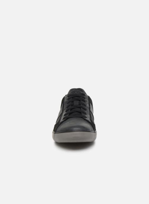 Baskets Geox U Box D U84R3D Noir vue portées chaussures