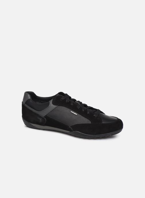 Trainers Geox U Wells A U84T5A Black detailed view/ Pair view
