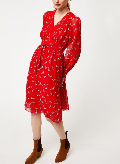 Vêtements Louche DORINA Rouge vue bas / vue portée sac