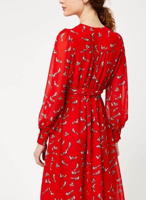 Vêtements Louche DORINA Rouge vue portées chaussures