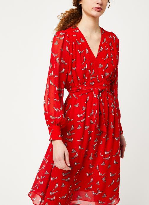 Vêtements Louche DORINA Rouge vue détail/paire