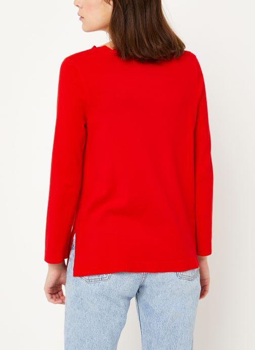 Vêtements Louche SONJA Rouge vue portées chaussures