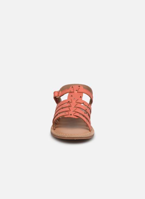 Sandales et nu-pieds I Love Shoes KATELLI Orange vue portées chaussures