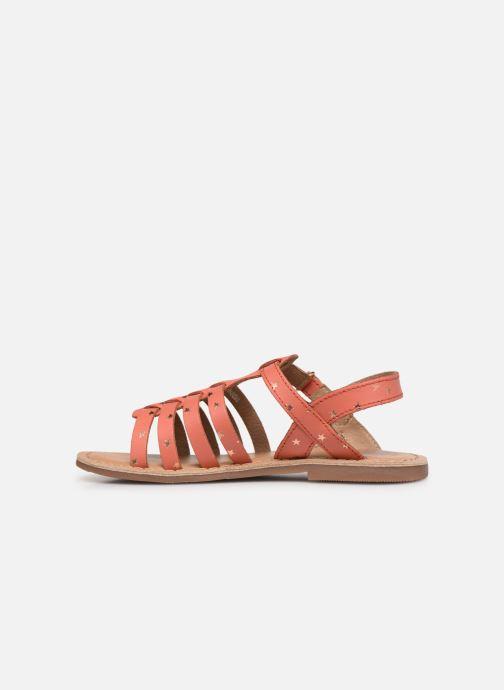 Sandales et nu-pieds I Love Shoes KATELLI Orange vue face