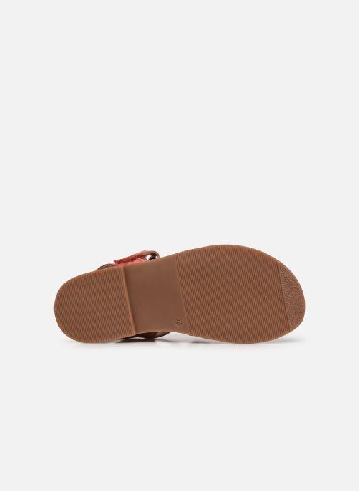 Sandales et nu-pieds I Love Shoes KATELLI Orange vue haut
