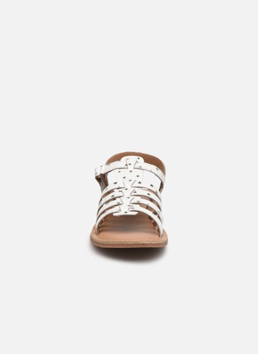 Sandales et nu-pieds I Love Shoes KATELLI Blanc vue portées chaussures