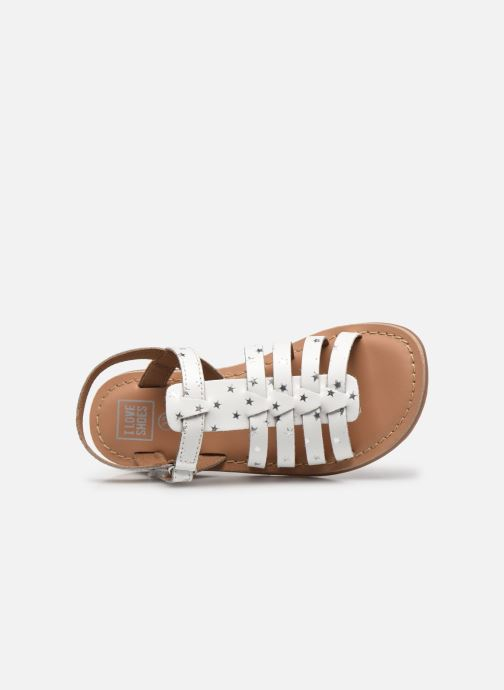 Sandales et nu-pieds I Love Shoes KATELLI Blanc vue gauche