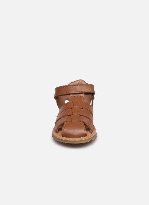 Sandalen I Love Shoes KARONI braun schuhe getragen