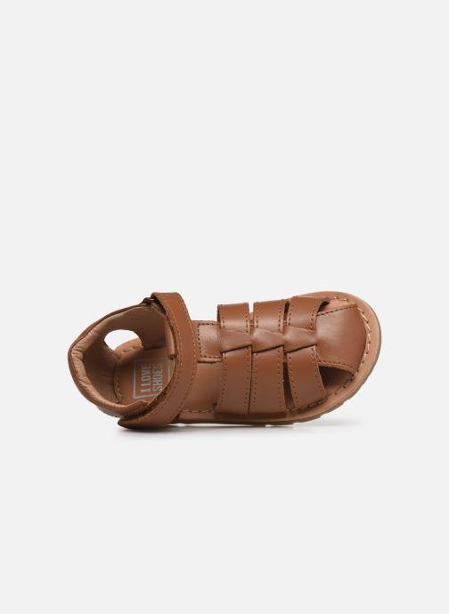 Sandalen I Love Shoes KARONI braun ansicht von links