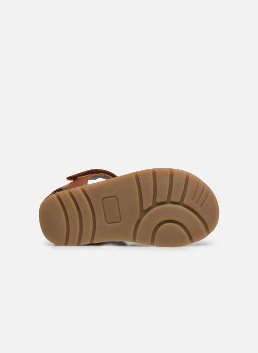 Sandalen I Love Shoes KARONI braun ansicht von oben