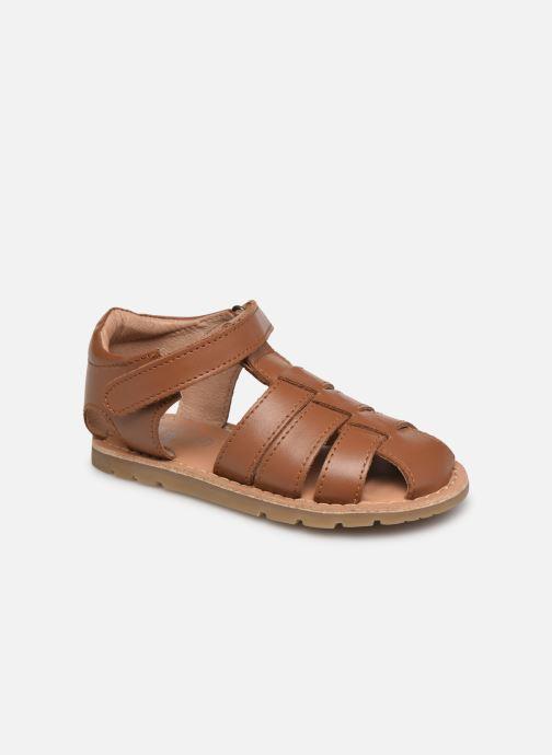 Sandales et nu-pieds I Love Shoes KARONI Marron vue détail/paire