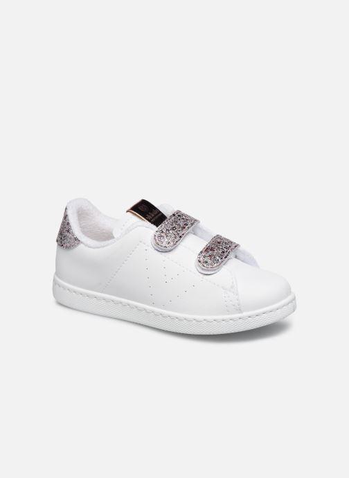 Tenis Velcros Pu/Glitter