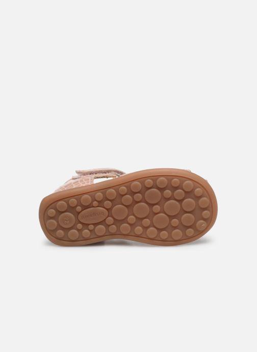 Sandali e scarpe aperte Bisgaard Chloe Rosa immagine dall'alto