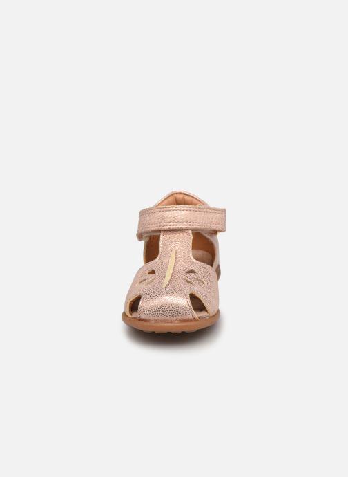 Sandali e scarpe aperte Bisgaard Chloe Argento modello indossato